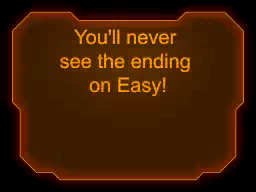 Contra 4 Easy Mode Ending 1: You'll never see the ending on Easy!