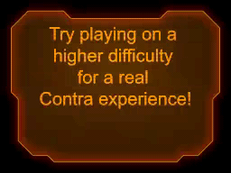 Contra 4 Easy Mode Ending 2: Try playing on a higher difficulty for a real Contra experience!