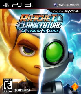 Ratchet & Clank Future: A Crack in Time box art