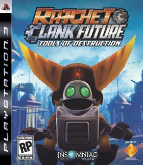 Ratchet & Clank Future: Tools of Destruction box art