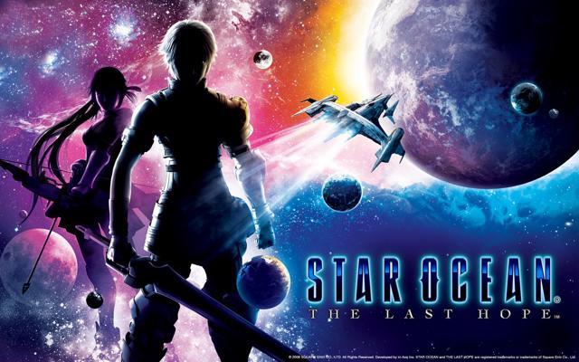 Star Ocean: The Last Hope promo art