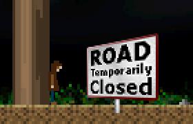 Road Temporarily Closed
