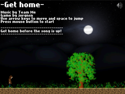 Get Home title screen