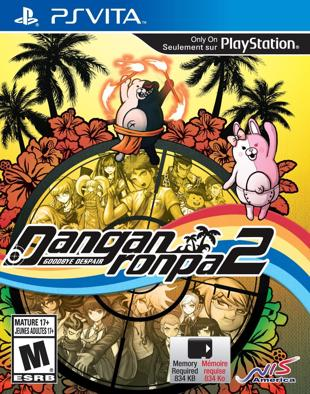 Danganronpa 2 box art