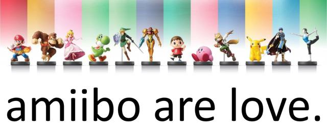 amiibo are love.