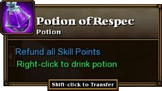 Torchlight 2 respec potion