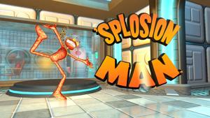 'Splosion Man title screen
