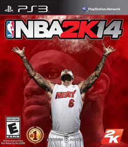 Cover art for NBA 2K14 game