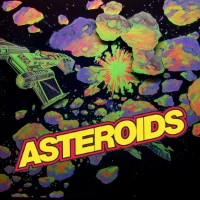 Asteroids cover art