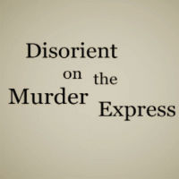 Disorient On The Murder Express cover art