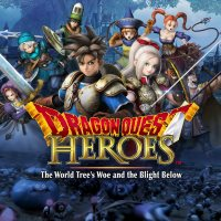 Dragon Quest Heroes: The World Tree's Woe and the Blight Below cover art