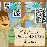 Fill-a-Pix: Phil's Epic Adventure cover art