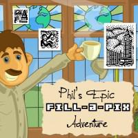 Fill-a-Pix: Phil's Epic Adventure cover art