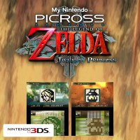 My Nintendo Picross: The Legend of Zelda: Twilight Princess cover art