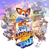 New Super Lucky's Tale cover art