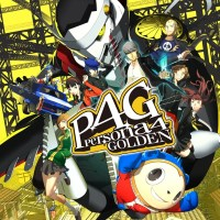 Persona 4 Golden cover art