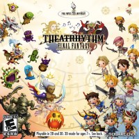 Theatrhythm Final Fantasy cover art